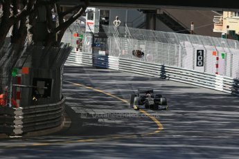 World © Octane Photographic Ltd. Friday 22nd May 2015. GP2/Pirelli 18inch tyre demonstration with Martin Brundle – Monaco, Monte-Carlo. Digital Ref. : 1279LB1D4719