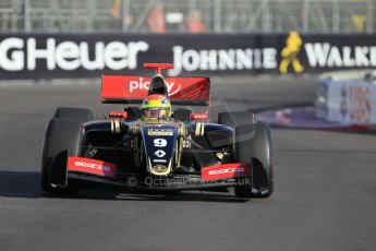 World © Octane Photographic Ltd. Friday 22nd May 2015. Lotus – Matthieu Vaxiviere. WSR (World Series by Renault - Formula Renault 3.5) Practice – Monaco, Monte-Carlo. Digital Ref. : 1277CB1L0123