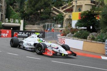 World © Octane Photographic Ltd. Saturday 23rd May 2015. International Draco Racing – Bruno Bonifacio. WSR (World Series by Renault - Formula Renault 3.5) Qualifying – Monaco, Monte-Carlo. Digital Ref. : 1280CB1L0780