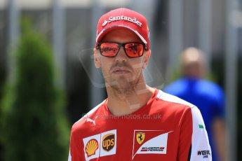 World © Octane Photographic Ltd. FIA Drivers' Press Conference video call. Thursday 4th June 2015, F1 Canadian GP, Circuit Gilles Villeneuve, Montreal, Canada. Scuderia Ferrari - Sebastian Vettel. Digital Ref: 1289CB7D8573