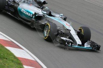 World © Octane Photographic Ltd. Mercedes AMG Petronas F1 W06 Hybrid – Nico Rosberg. Friday 5th June 2015, F1 Practice 2, Circuit Gilles Villeneuve, Montreal, Canada. Digital Ref: 1292LB1D9948