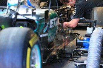 World © Octane Photographic Ltd. Mercedes AMG Petronas F1 W06 Hybrid – Lewis Hamilton. Saturday 6th June 2015, F1 Canadian GP Practice 3 pitlane, Circuit Gilles Villeneuve, Montreal, Canada. Digital Ref: 1295LB1D0881