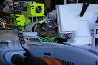 World © Octane Photographic Ltd. Williams Martini Racing FW37 – Felipe Massa. Saturday 6th June 2015, F1 Canadian GP Practice 3 pitlane, Circuit Gilles Villeneuve, Montreal, Canada. Digital Ref: 1295LB1D1071