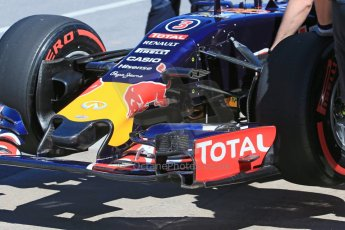World © Octane Photographic Ltd. Infiniti Red Bull Racing RB11 – Daniel Ricciardo. Saturday 6th June 2015, F1 Canadian GP Practice 3 pitlane, Circuit Gilles Villeneuve, Montreal, Canada. Digital Ref: 1295LB1D1560