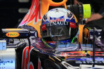 World © Octane Photographic Ltd. Infiniti Red Bull Racing RB11 – Daniel Ricciardo. Saturday 6th June 2015, F1 Canadian GP Practice 3 pitlane, Circuit Gilles Villeneuve, Montreal, Canada. Digital Ref: 1295LB1D1689