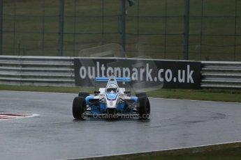 World © Octane Photographic Ltd. DUO BRDC Formula 4 Testing, Oulton Park, UK, Friday 3rd April 2015. MSV F4-013. Douglas Motorsport. Akhil Rabindra. Digital Ref : 1212LB1D1170