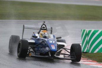 Car 37 World © Octane Photographic Ltd. DUO BRDC Formula 4 Testing, Oulton Park, UK, Friday 3rd April 2015. MSV F4-013. HHC Motorsport. Sisa Ngebulana. Digital Ref : 1212LB1D1792