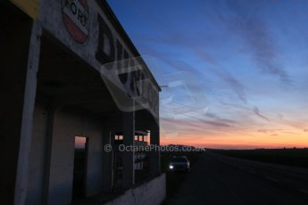 World © Octane Photographic Ltd. 7th February 2015 dawn visit to the pit buildings at the Reims-Gueux abandoned track, last used for Formula 1 in 1966. Digital Ref : 1185CB1D4622