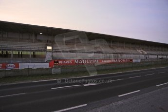 World © Octane Photographic Ltd. 7th February 2015 dawn visit to the pit buildings at the Reims-Gueux abandoned track, last used for Formula 1 in 1966. Digital Ref : 1185CB1D4711
