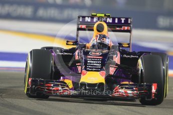 World © Octane Photographic Ltd. Infiniti Red Bull Racing RB11 – Daniil Kvyat. Friday 18th September 2015, F1 Singapore Grand Prix Practice 2, Marina Bay. Digital Ref: 1429CB7D0360