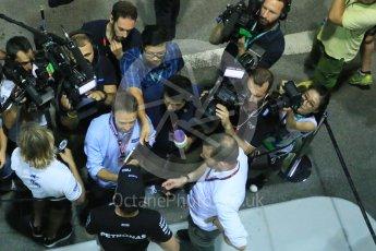 World © Octane Photographic Ltd. Mercedes AMG Petronas F1 W06 Hybrid – Nico Rosberg. Friday 18th September 2015, F1 Singapore Grand Prix Practice 2, Marina Bay. Digital Ref: 1429LB1D6909