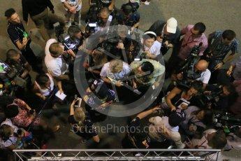 World © Octane Photographic Ltd. Infiniti Red Bull Racing RB11 – Daniel Ricciardo. Friday 18th September 2015, F1 Singapore Grand Prix Practice 2, Marina Bay. Digital Ref: 1429LB1D6913