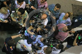 World © Octane Photographic Ltd. Infiniti Red Bull Racing RB11 – Daniil Kvyat. Friday 18th September 2015, F1 Singapore Grand Prix Practice 2, Marina Bay. Digital Ref: 1429LB1D6918