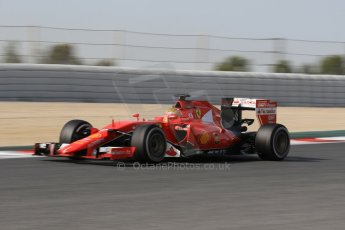 World © Octane Photographic Ltd. Scuderia Ferrari SF15-T– Esteban Gutierrez. Wednesday 13th May 2015, F1 In-season testing, Circuit de Barcelona-Catalunya, Spain. Digital Ref: 1269CB1L9052