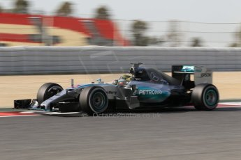 World © Octane Photographic Ltd. Mercedes AMG Petronas F1 W06 Hybrid – Pascal Wehrlein. Wednesday 13th May 2015, F1 In-season testing, Circuit de Barcelona-Catalunya, Spain. Digital Ref: 1269CB1L9075