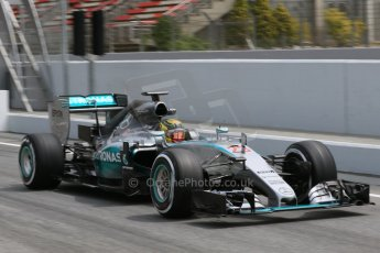 World © Octane Photographic Ltd. Mercedes AMG Petronas F1 W06 Hybrid – Pascal Wehrlein. Wednesday 13th May 2015, F1 In-season testing, Circuit de Barcelona-Catalunya, Spain. Digital Ref: 1269CB7D2382