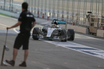 World © Octane Photographic Ltd. Mercedes AMG Petronas F1 W06 Hybrid – Pascal Wehrlein. Wednesday 13th May 2015, F1 In-season testing, Circuit de Barcelona-Catalunya, Spain. Digital Ref: 1269LB1D2482