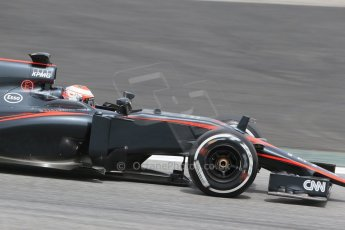 World © Octane Photographic Ltd. McLaren Honda MP4/30 – Jenson Button. Wednesday 13th May 2015, F1 In-season testing, Circuit de Barcelona-Catalunya, Spain. Digital Ref: 1269LB1D2908