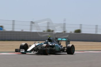 World © Octane Photographic Ltd. Mercedes AMG Petronas F1 W06 Hybrid – Nico Rosberg. Saturday 9th May 2015, F1 Spanish GP Qualifying, Circuit de Barcelona-Catalunya, Spain. Digital Ref: 1257CB7D8233