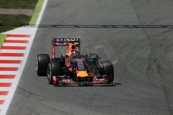 World © Octane Photographic Ltd. Infiniti Red Bull Racing RB11 – Daniil Kvyat. Saturday 9th May 2015, F1 Spanish GP Qualifying, Circuit de Barcelona-Catalunya, Spain. Digital Ref: 1257LB1D8488