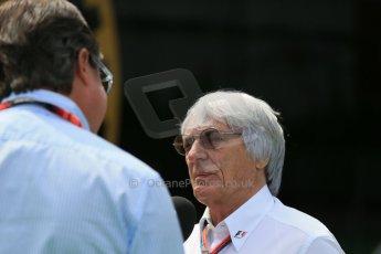 World © Octane Photographic Ltd. Bernie Ecclestone. Sunday 10th May 2015, F1 Spanish GP Formula 1 Paddock, Circuit de Barcelona-Catalunya, Spain. Digital Ref: 1264LB1D9964