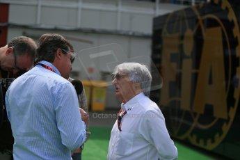 World © Octane Photographic Ltd. Bernie Ecclestone. Sunday 10th May 2015, F1 Spanish GP Formula 1 Paddock, Circuit de Barcelona-Catalunya, Spain. Digital Ref: 1264LB1D9970
