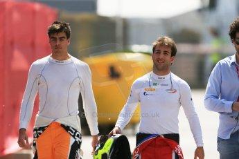 World © Octane Photographic Ltd. Friday 8th May 2015. Arden International – Andre Negrao and MP Motorsport – Daniel de Jong. GP2 Qualifying – Circuit de Barcelona–Catalunya. Spain. Digital Ref. : 1252CB5D1221