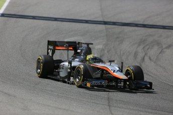 World © Octane Photographic Ltd. Friday 8th May 2015. Hilmer Motorsport – Nick Yelloly. GP2 Qualifying – Circuit de Barcelona–Catalunya. Spain. Digital Ref. : 1252CB5D1320