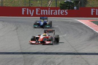World © Octane Photographic Ltd. Friday 8th May 2015. MP Motorsport – Sergio Canamasas. GP2 Qualifying – Circuit de Barcelona–Catalunya. Spain. Digital Ref. : 1252CB5D1381