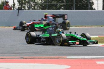 World © Octane Photographic Ltd. Friday 8th May 2015. Status Grand Prix – Marlon Stockinger. GP2 Qualifying – Circuit de Barcelona–Catalunya. Spain. Digital Ref. : 1252CB5D1448