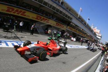 World © Octane Photographic Ltd. Saturday 9th May 2015. Arden International – Andre Negrao. GP2 Race 1 – Circuit de Barcelona–Catalunya. Spain. Digital Ref: