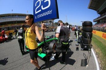 World © Octane Photographic Ltd. Saturday 9th May 2015. Status Grand Prix – Richie Stanaway. GP2 Race 1 – Circuit de Barcelona–Catalunya. Spain. Digital Ref: