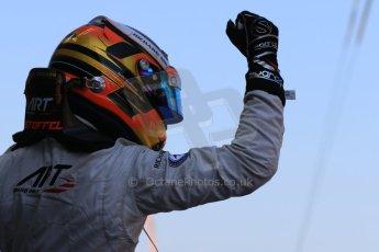 World © Octane Photographic Ltd. Saturday 9th May 2015. ART Grand Prix – Stoffel Vandoorne (1st). GP2 Race 1 – Circuit de Barcelona–Catalunya. Spain. Digital Ref: