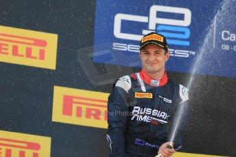 World © Octane Photographic Ltd. Saturday 9th May 2015. Russian Time – Mitch Evans (2nd). GP2 Race 1 – Circuit de Barcelona–Catalunya. Spain. Digital Ref: