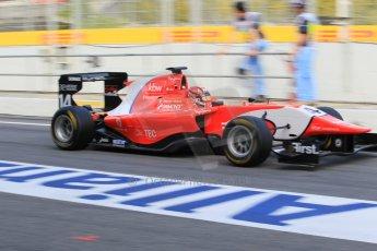 World © Octane Photographic Ltd. Friday 8th May 2015. Arden International – Kevin Ceccon. GP3 Practice – Circuit de Barcelona–Catalunya. Spain. Digital Ref. : 1253CB1L6962