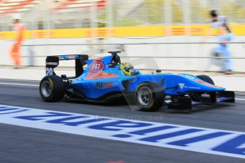 World © Octane Photographic Ltd. Friday 8th May 2015. Jenzer Motorsport – Pal Varhaug. GP3 Practice – Circuit de Barcelona–Catalunya. Spain. Digital Ref. : 1253CB1L6984