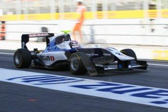 World © Octane Photographic Ltd. Friday 8th May 2015. Carlin – Jann Mardenborough. GP3 Practice – Circuit de Barcelona–Catalunya. Spain. Digital Ref. : 1253CB1L7003