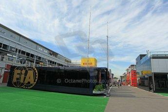 World © Octane Photographic Ltd. Thursday 7th May 2015, F1 Spanish GP Paddock, Circuit de Barcelona-Catalunya, Spain. Digital Ref: 1244CB1L5809