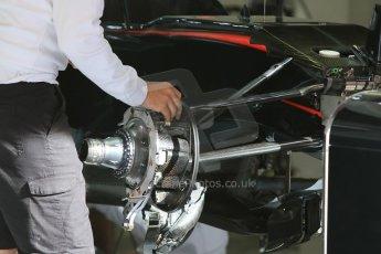 World © Octane Photographic Ltd. McLaren Honda MP4/30. Thursday 7th May 2015, F1 Spanish GP Pitlane, Circuit de Barcelona-Catalunya, Spain. Digital Ref: 1244CB7D1235