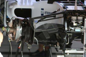 World © Octane Photographic Ltd. Williams Martini Racing FW37. Thursday 7th May 2015, F1 Spanish GP Pitlane, Circuit de Barcelona-Catalunya, Spain. Digital Ref: 1244CB7D1256