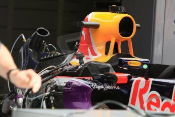 World © Octane Photographic Ltd. Infiniti Red Bull Racing RB11. Thursday 7th May 2015, F1 Spanish GP Pitlane, Circuit de Barcelona-Catalunya, Spain. Digital Ref: 1244CB7D1268