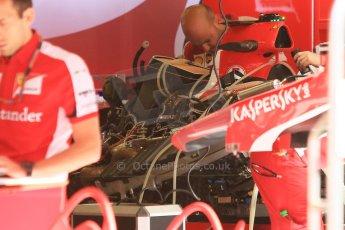 World © Octane Photographic Ltd. Scuderia Ferrari SF15-T. Thursday 7th May 2015, F1 Spanish GP Pitlane, Circuit de Barcelona-Catalunya, Spain. Digital Ref: 1244CB7D1292