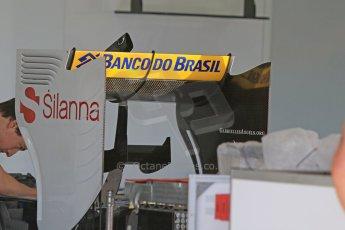World © Octane Photographic Ltd. Sauber F1 Team C34-Ferrari. Thursday 7th May 2015, F1 Spanish GP Pitlane, Circuit de Barcelona-Catalunya, Spain. Digital Ref: 1244CB7D1348