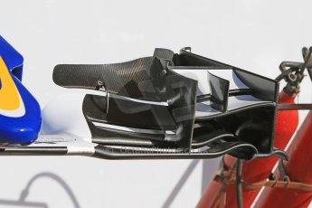 World © Octane Photographic Ltd. Sauber F1 Team C34-Ferrari. Thursday 7th May 2015, F1 Spanish GP Pitlane, Circuit de Barcelona-Catalunya, Spain. Digital Ref: 1244CB7D1367