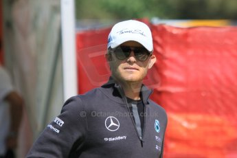 World © Octane Photographic Ltd. Mercedes AMG Petronas F1 W06 Hybrid – Nico Rosberg. Thursday 7th May 2015, F1 Spanish GP Paddock, Circuit de Barcelona-Catalunya, Spain. Digital Ref: 1244CB7D1576
