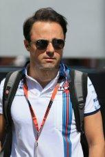 World © Octane Photographic Ltd. Williams Martini Racing FW37 – Felipe Massa. Thursday 7th May 2015, F1 Spanish GP Paddock, Circuit de Barcelona-Catalunya, Spain. Digital Ref: 1244LB1D5460