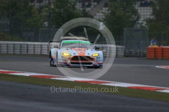 World © Octane Photographic Ltd. FIA World Endurance Championship (WEC), 6 Hours of Nurburgring , Germany - Practice, Friday 28th August 2015. Aston Martin Racing - Aston Martin Vantage GTE – LMGTE Am – Paul Dalla Lana, Pedro Lamy and Mathias Lauda. Digital Ref : 1392LB1D3190