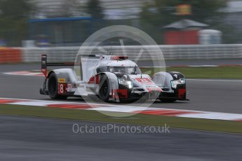 World © Octane Photographic Ltd. FIA World Endurance Championship (WEC), 6 Hours of Nurburgring , Germany - Practice, Friday 28th August 2015. Audi Sport Team Joest- Audi R18 e-tron Quatrro - LMP1 - Oliver Jarvis, Lucas di Grassi and Loic Duval. Digital Ref : 1392LB1D3225