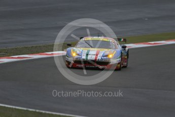 World © Octane Photographic Ltd. FIA World Endurance Championship (WEC), 6 Hours of Nurburgring , Germany - Practice, Friday 28th August 2015. AF Corse – Ferrari F458 Italia GT2 - LMGTE Pro – Gianmaria Bruni, Toni Vilander. Digital Ref : 1392LB1D3330