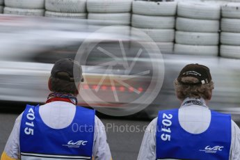 World © Octane Photographic Ltd. FIA World Endurance Championship (WEC), 6 Hours of Nurburgring , Germany - Practice, Friday 28th August 2015. Marshals. Digital Ref : 1392LB1D3523